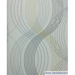 Paper Pintat Metropolis Z445-19