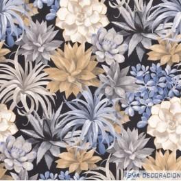 Paper Pintat Botanica 8591 1964