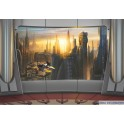 Fotomural Star Wars 8-483 Star Wars Coruscant View